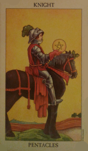 knight of pentacles spiritual guidance