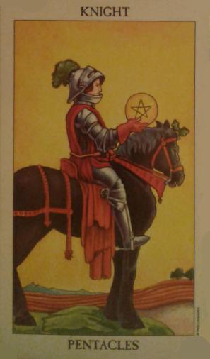 knight of pentacles spiritual guidance