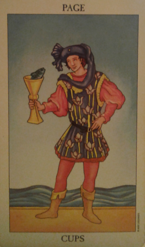 page of cups spiritual guidance