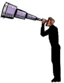 How to see your future...telescope