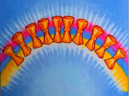 ten of cups rainbow