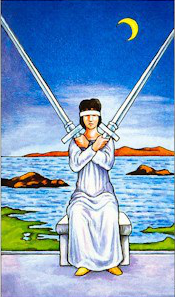 Two of Swords tarot image