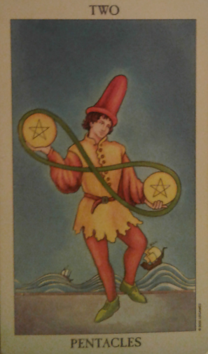 two of pentacles spiritual guidance